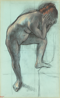 Degas and the Nude