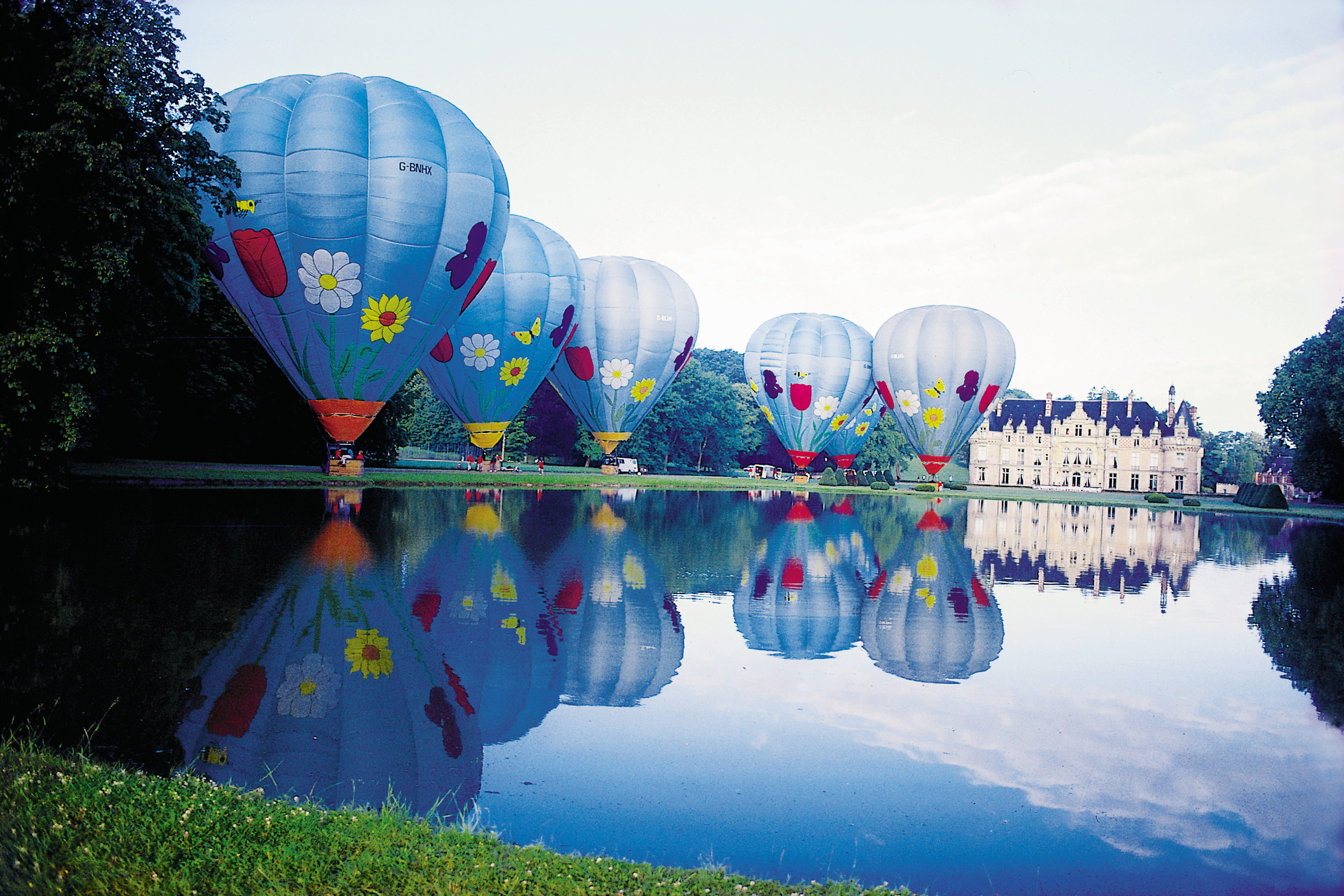 GRAND TOURING, WHEN IT COMES TO ELITE WORLD TRAVEL,  BUDDY BOMBARD'S BALLOONS RISE ABOVE ALL ELSE