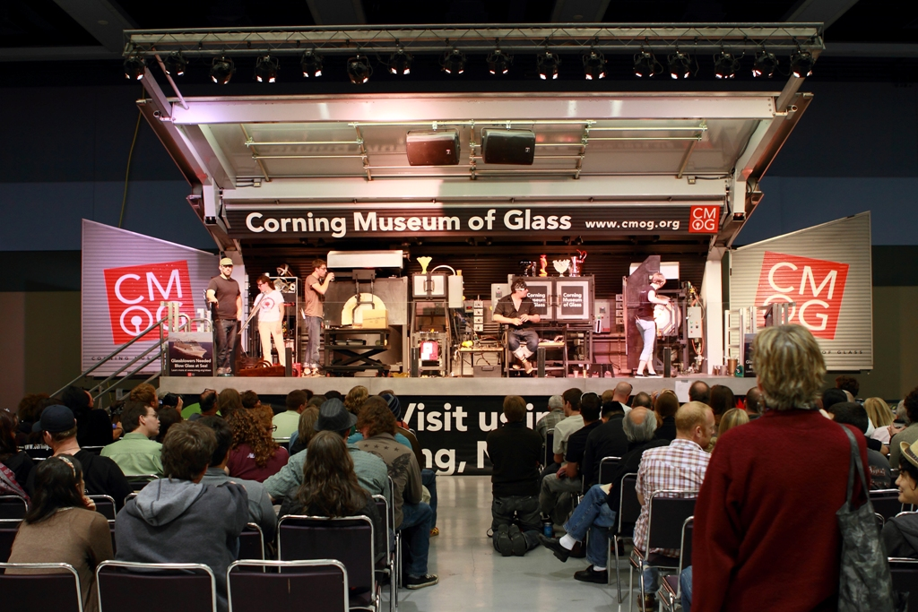 Norton Celebrates 50th Anniversary of Glass Art in America with Artist Beth Lipman, Corning Museum Hot Glass Roadshow                                                                                                       Norton also Exhibiting 'Studio Glass' from its Collection