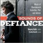 YEVGENY KUTIK, violin Sounds of Defiance