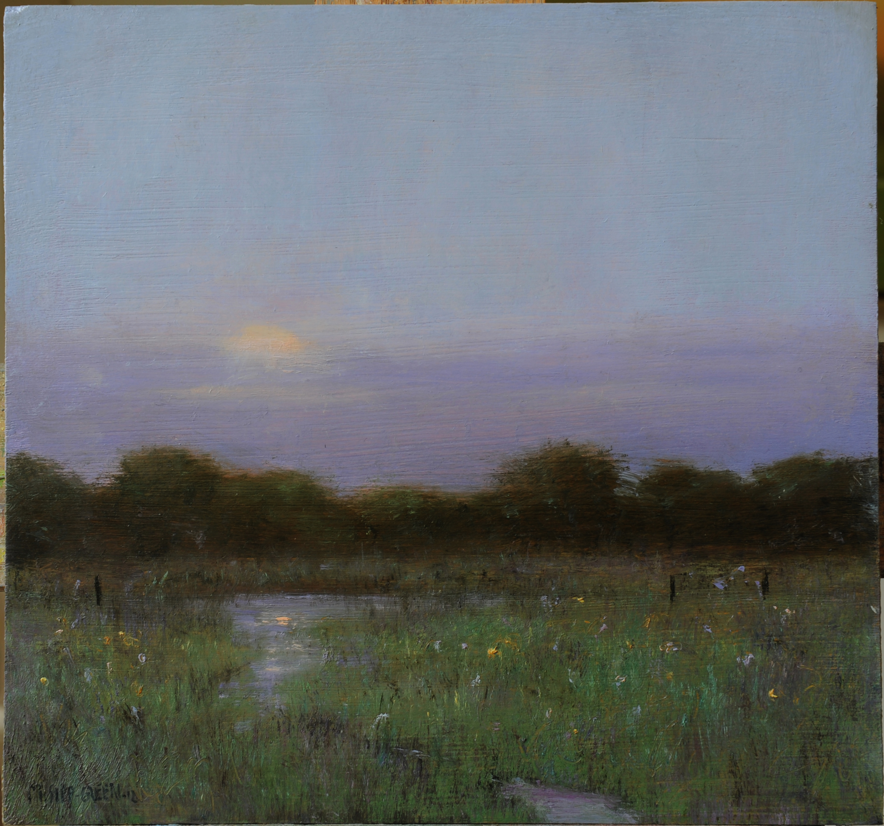 Luminous Landscapes: the Art of  Mary Sipp Green In her paintings of Europe and America, this artist unlocks the essence of place. by Michelle Gillett