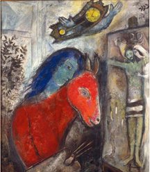 The Jewish Museum in New York Presents First U.S. Exhibition Exploring Darker Works by Marc Chagall Created During World War II Era  Chagall: Love, War, and Exile September 15, 2013 – February 2, 2014