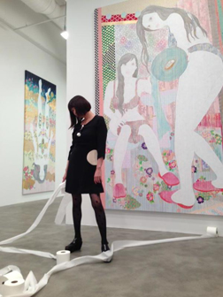 Mike Weiss Gallery is pleased to present ENN, KAORUKO's second solo exhibition October 17th.