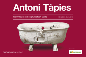 The Guggenheim Museum Bilbao presents Antoni T àpies. From Object to Sculpture (1964-2009)
