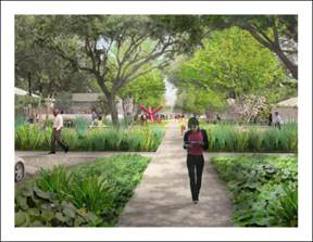 THE MENIL COLLECTION UNVEILS PLANS FOR ITS NEW CAMPUS GATEWAY, INCORPORATING M– USEUM CAFÉ INTO WELCOMING LANDSCAPE DESIGNED BY MICHAEL VAN VALKENBURGH ASSOCIATES