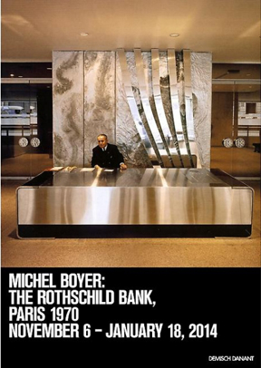 DEMISCH DANANT TO PRESENT WORKS OF ART AND DESIGN FROM MICHEL BOYER'S CELEBRATED INTERIORS FOR THE ROTHSCHILD BANK IN PARIS