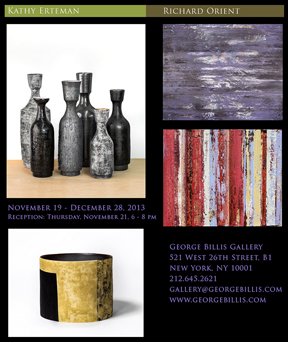 GEORGE BILLIS GALLERY at 5221 W. 26th Street, NYC