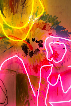 Mike Weiss Gallery presents  All Light up by THRUSH HOLMES Thru 1 March 2014