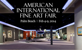 David and Lee Ann Lester, Organizers Cordially invite you and a guest to the American International Fine Art Fair Feb 4th.