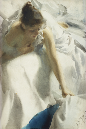 Anders Zorn at the National Academy in New York from Feb 27-May 18