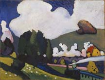 Early Paintings and Woodcuts by Vasily Kandinsky On View at the Guggenheim Museum
