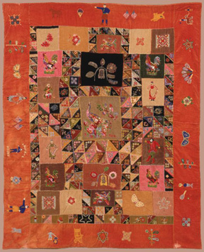 Masterpieces & Curiosities: A Russian American Quilt  Opens August 22, 2014 at the Jewish Museum in New York