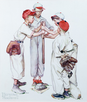 "Norman Rockwell Museum Presents ""Home Run! An All American Baseball Day"""
