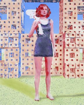 Denise Bibro Fine Art's Two Picks of the Week are….  Art From the Boros III Artist's:  Mark Taber & Deborah Simon