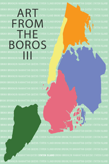 Denise Bibro Fine Art presents…  Art From The Boros III     Running Through July 23rd- August 15th, 2015.