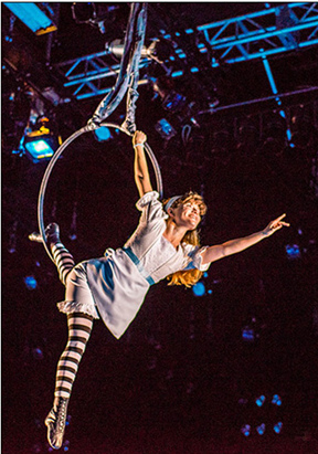 Looking glass Alice at the Adrienne Arsht Center for the Performing Arts  thru August 16, 2015