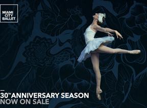Miami City Ballet announces their 30th Anniversary Season, 2015-16 season schedule