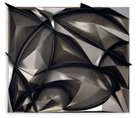 Giacomo Balla Sculptural Construction of Noise and Speed, 1914–15, reconstructed 1968