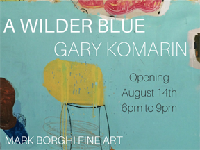 Mark Borghi Fine Art in Bridgehampton will be hosting the opening reception of A Wilder Blue August 14, 2015