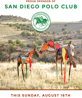 MADISON GALLERY is proud to Sponsor the San Diego Polo Club August 16 th, 2015