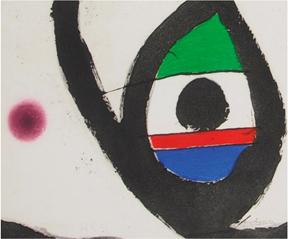FIRST ANNIVERSARY OF MAYORAL ESPAI D'ART IN VERDÚ present MIRO