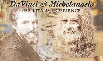 "The Palm Beaches Theatre presents DaVincie Michelangelo ""The Titans Experience April 21, 2016"