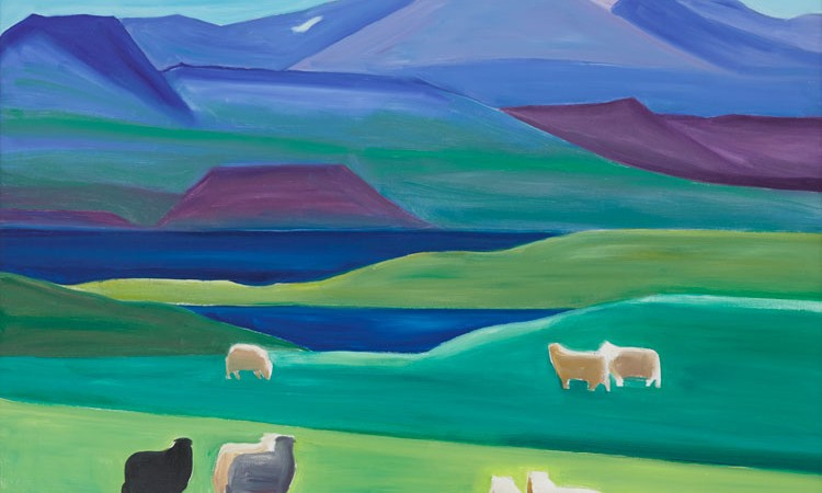 The Tibor de Nagy Gallery is presenting its fifth exhibition of works by the much-admired Icelandic painter Louisa Matthíasdóttir (1917-2000).