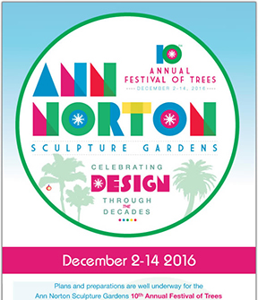 ANN NORTON HOLDS IT'S ANNUAL FESTIVAL OF THE TREES DEC 2-14, 2016