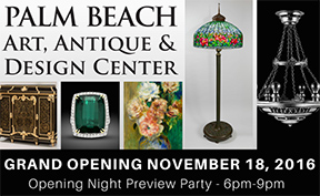 International Antiques & Art Dealers Embrace a Permanent Home in Palm Beach The Palm Beach Show Group, World Renowned Show Organizers, Announce the Opening of The Palm Beach Art, Antique & Design Center