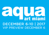 AQUA Art Miami, a sister fair of Art Miami, will return for its 13th edition on December 6th with a VIP Preview before opening its doors to the public from December 7th – 10th at the AQUA Hotel in Miami.