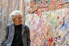 YARES ART is pleased to present Larry Poons: Momentum, on view in New York, September 16-October, 2017.