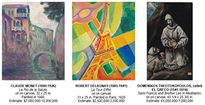 CHRISTIE'S TO OFFER PROPERTY FROM THE COLLECTION OF STANFORD Z. ROTHSCHILD, JR. in November & December