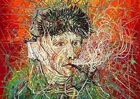 Van Gogh Museum, Amsterdam  is pleased to present Zeng Fanzhi   Van Gogh