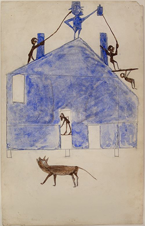 """Between Worlds: The Art of Bill Traylor"" Opens Sept. 28 at the Smithsonian American Art Museum    Exhibition Presents the First Major Retrospective of an Artist Born into Slavery  Bill Traylor (ca. 1853–1949) is among the most important American artists of the 20th century. Born in antebellum Alabama, Traylor was an eyewitness to history—the Civil War, Emancipation, Reconstruction, Jim Crow segregation, the Great Migration and the steady rise of African American urban culture in the South. In the late 1930s, a decade after leaving plantation life and moving to the city of Montgomery, Alabama, Traylor took up pencil and paintbrush and created a visual autobiography, images on discarded cardboard extracted from his memories and experiences. When he died in 1949, Traylor left behind more than 1,000 works of art, the only known person born enslaved, and entirely self-taught, to create an extensive body of graphic artworks.   ""Between Worlds: The Art of Bill Traylor"" brings together 155 drawings and paintings to provide the most encompassing and in-depth study of the artist to date. This major retrospective is drawn from public and private collections across the country and abroad and includes 17 works from the collections of the Smithsonian American Art Museum. It presents a comprehensive picture of Traylor's stylistic development and artistic themes, explored in the context of the profoundly different worlds Traylor's life bridged: rural and urban, black and white, old and new.   ""Between Worlds: The Art of Bill Traylor"" will be on view at the museum Sept. 28 through March 17, 2019. Organized by Leslie Umberger, curator of folk and self-taught art at the Smithsonian American Art Museum, the exhibition will be accompanied by a groundbreaking monograph in which Umberger thoroughly reassesses the known facts of Traylor's life and family, his creative trajectory, and the art world's discovery of him and positions him within the broader context of American art. The museum is the sole venue for this exhibition.  ""Since 1970 when the Smithsonian American Art Museum began collecting folk and self-taught artists with purpose, this museum has blazed a trail in widening and deepening the story of American art and artists,"" said Stephanie Stebich, The Margaret and Terry Stent Director at the Smithsonian American Art Museum. ""Leslie Umberger's thoughtful and encompassing presentation of Traylor's work makes 'Between Worlds' a landmark project. The book and exhibition exponentially expand not just the story of one self-taught artist, but also the overarching stories of American and African American art in the 20th century."" ""Bill Traylor came to art making on his own and found his creative voice without guidance,"" said Umberger. ""Traylor was denied literacy, yet his visual depictions comprise an oral history recorded in a pictorial language.""  A native of rural Alabama, Traylor came of age during Reconstruction and lived most of his life in the brutal era of Jim Crow segregation. In the late 1920s, Traylor left plantation life and moved to the urban landscape of Montgomery. When Traylor began drawing, he had little to his name and was living predominantly on the streets in the black business district. Montgomery in the 1930s and '40s, though segregated, offered Traylor just enough space to become an artist of powerful vision and ability. Traylor's drawings and paintings look back at a hard rural past and forward at a rising African American culture. Traylor's visual depictions are unique, yet they echo the beliefs and stories that had been part of African American history from slavery through many subsequent decades.  Book The exhibition is accompanied by a monograph written by Umberger with an introduction by acclaimed artist Kerry James Marshall, published by the Smithsonian American Art Museum in association with Princeton University Press. The 444-page publication features 205 of Traylor's artworks along with 83 supplemental illustrations, city maps of Montgomery, family trees, a timeline of key events from Traylor's life and an extensive bibliography. Umberger's carefully researched chapters offer a richly woven tapestry of social history, biography and art history, creating a portrait of 19th- and early 20th-century Alabama and how it shaped Traylor and his art. The chapters explore Traylor's life and position his art against the backdrop of his time and place, and conclude with an examination of the posthumous attention Traylor's work has garnered. The book will be available for purchase in the museum store and online ($60, hardcover).  Public Programs The museum will premiere Bill Traylor: Chasing Ghosts, a film by Jeffrey Wolf, in conjunction with the opening of the exhibition, with a public screening Sunday, Sept. 30, at 3 p.m.; the film will be shown again Saturday, March 2, 2019, at 3 p.m. On Friday, Feb. 22, 2019, the museum will present the first in the Margaret Z. Robson symposium series with a host of invited scholars exploring themes related to the exhibition. Details will be available online in November. An original, improvisational jazz duet by musicians Jason Moran and Marvin Sewell, Untitled: (Blue), inspired by Traylor's art, will take place Friday, March 1; tickets will be available for purchase Feb. 4 at 10 a.m.  Self-Taught Art at the Smithsonian American Art Museum The Smithsonian American Art Museum was among the first major museums to collect works by folk and self-taught artists and to advocate for a more inclusive collection that aims to tell an ever-expanding story of America through the art of its people. The museum began broadening traditional ideas of American art in 1970, when it acquired James Hampton's ""Throne of the Third Heaven of the Nations' Millennium General Assembly"" (ca. 1950–64). Since then, the museum has been recognized internationally as a leader in championing the importance of works by untrained artists. The collection has grown with major donations from Herbert Waide Hemphill Jr., Chuck and Jan Rosenak, David L. Davies, the Kallir Family and Douglas O. Robson. Today the collections at the museum, which include thousands of works by self-taught artists and the largest holdings of African American and Latino art of any nationally focused institution, reflect the collective identity of America.   Recent exhibitions featuring the work of untrained artists have included ""Mingering Mike's Supersonic Greatest Hits"" (2015), ""Untitled: The Art of James Castle"" (2014) and ""Ralph Fasanella: Lest We Forget"" (2014). The museum has had dedicated gallery spaces for folk and self-taught art for more than 45 years. A new installation of these recently renovated galleries opened to the public in 2016.   Credit This exhibition is organized by the Smithsonian American Art Museum with support from ART MENTOR FOUNDATION LUCERNE, Elizabeth Broun, Faye and Robert Davidson, Sheila Duignan and Mike Wilkins, Josh Feldstein, Jocelin Hamblett, Herbert Waide Hemphill Jr. American Folk Art Fund, Just Folk/Marcy Carsey and Susan Baerwald, Lucas Kaempfer Foundation, Marianne and Sheldon B. Lubar, Margery and Edgar Masinter Exhibitions Fund, Morton Neumann Family Foundation, Douglas O. Robson in honor of Margaret Z. Robson, Jeanne Ruddy and Victor Keen, Judy A. Saslow, and Kelly Williams and Andrew Forsyth. About the Smithsonian American Art Museum The Smithsonian American Art Museum celebrates the vision and creativity of Americans with artworks in all media spanning more than four centuries. Its National Historic Landmark building is located at Eighth and F streets N.W., above the Gallery Place/Chinatown Metrorail station. Museum hours are 11:30 a.m. to 7 p.m. daily (closed Dec. 25). Its Renwick Gallery, a branch museum dedicated to contemporary craft and decorative arts, is open 10 a.m. to 5:30 p.m. daily (closed Dec. 25). Admission is free. Follow the museum on Twitter, YouTube, Instagram, and Facebook. Museum information (recorded): (202) 633-7970. Smithsonian information: (202) 633-1000. Website: americanart.si.edu.  # # #   Note to editors: Selected high-resolution images for publicity only are available through the museum's Dropbox account. Email AmericanArtPressOffice@si.edu to request the link.  Image credit: Bill Traylor, House, ca. 1941, watercolor and graphite on cardboard. Montgomery Museum of Fine Arts, Montgomery, Alabama. Gift of Charles and Eugenia Shannon, 1982.4.29  Connect with Us Facebook ‌ Twitter ‌ Instagram ‌ YouTube ‌"